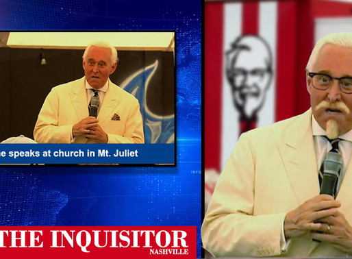 Roger Stone tells Nashville church God spared him to become next Colonel Sanders