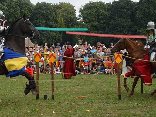 Due to lumber shortage, Renaissance festival knights will joust with pool noodles