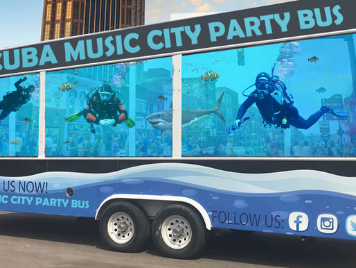 New 'Scuba Music City Party Bus' hopes to bring new meaning to dive bar