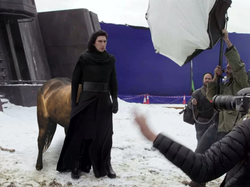 How Disney used CGI to remove Adam Driver's hindquarters in STAR WARS