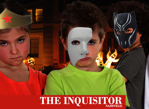 BREAKING: Trick-or-treaters stage protest outside tight-wad's house demanding better candy
