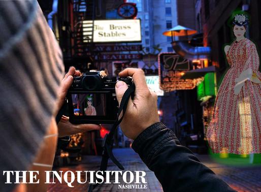 Nashville tourist captures shocking image of ghost downtown not wearing mask