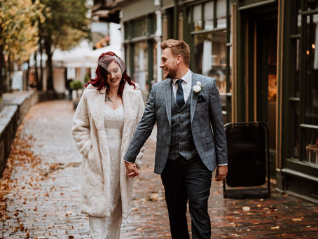 Kate & Adrian - a chic micro-wedding in The Pantiles