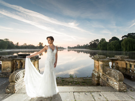 From Dawn Til Dusk; stylish sunrise shoot at Hever Castle