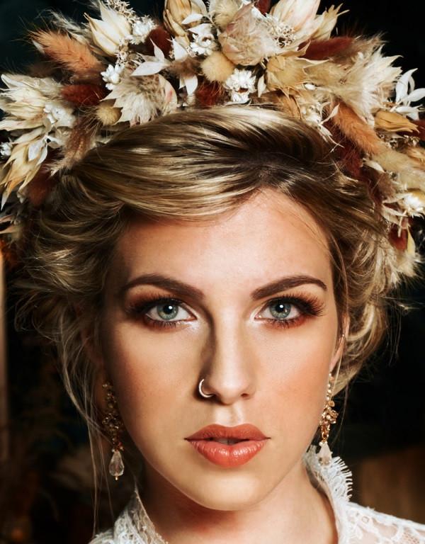 Luke Batchelor Productions | Moroccan Wedding Boho Style Flower Crown