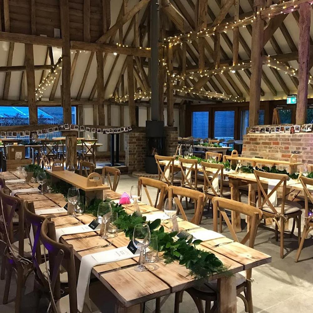 The Oak Barn, DIY wedding venue in Kent