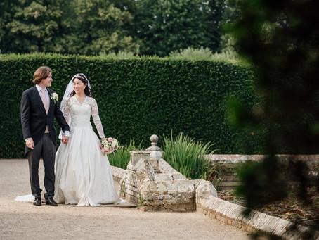 Toshimi & Jack - a royal-inspired wedding at Penshurst Place