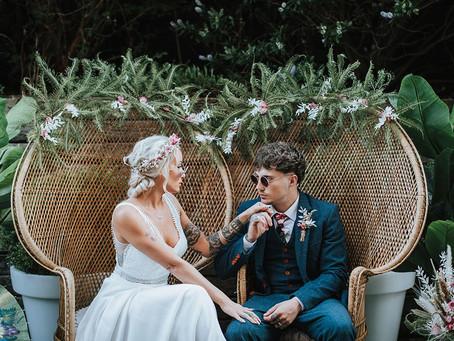Wild & Wonderful Wedding Inspiration at The Winding House