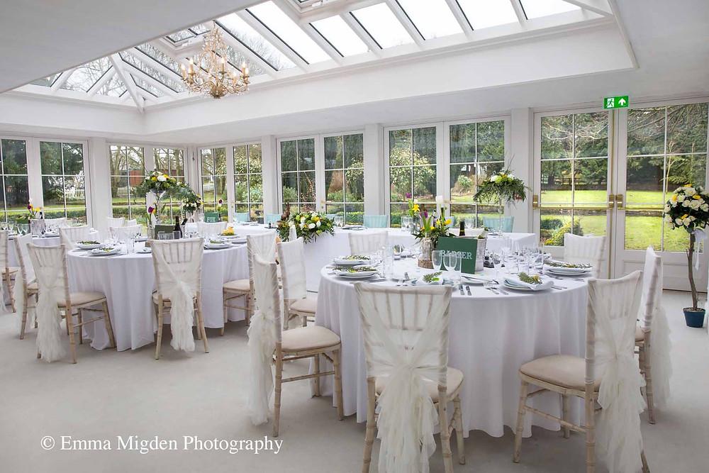 Hayne House, eco-friendly wedding venue in Kent