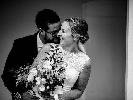 Kelly & Líam - a romantic, intimate wedding at Bradbourne House