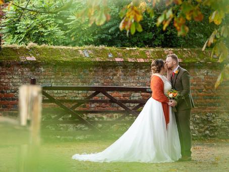 Suzanna & Rowan - an Autumnal Wedding with Stunning Seasonal Tones