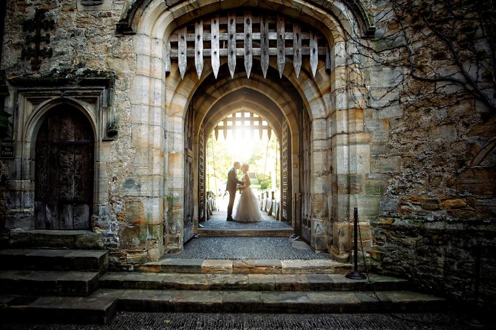 Hever Castle, Kent castle wedding venue