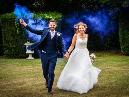 Victoria & Robert - a micro Kent garden wedding