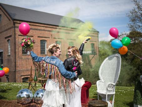 Colour Pops & Brides Who Rock!