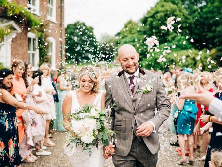 Sarah & Lee - a fabulous festival wedding at Brenley Farm