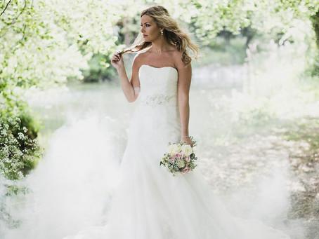 A Real Romance - soft dusky pink bridal inspiration