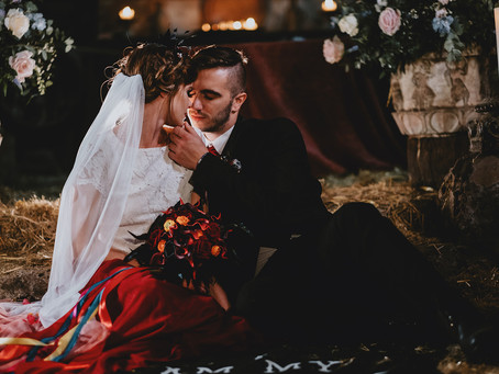 Til Death Do Us Party - a Day of the Dead themed wedding
