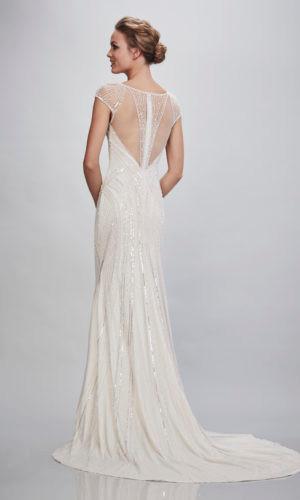 Vivanna by Theia Bridal, stunning wedding dress