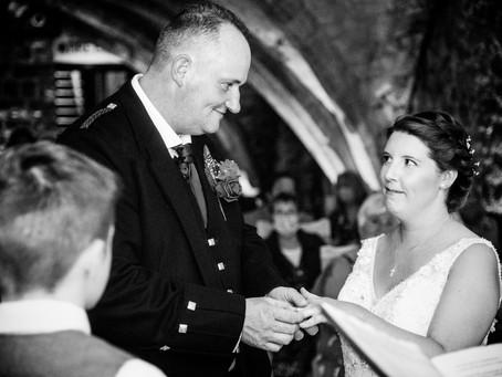 Katie & Scott's intimate wedding in Rochester