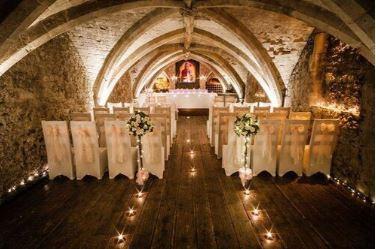 Underground, unique alternative wedding venue in Kent