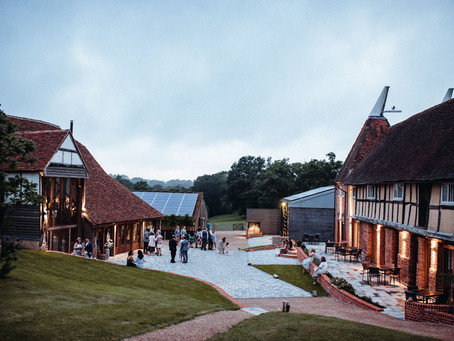 The Oak Barn; Shortlisted for Top Environmental and Sustainability Award!