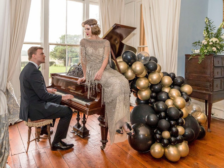 Gatsby Glam; gorgeous 1920s wedding inspiration