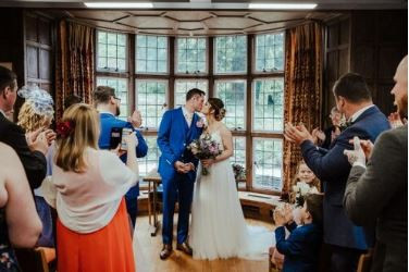 St Martin's Priory, Canterbury, small, intimate wedding venue in Kent