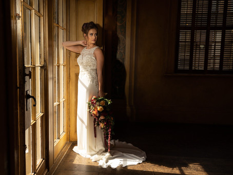 Exotic Elegance - a warm and sultry bridal shoot