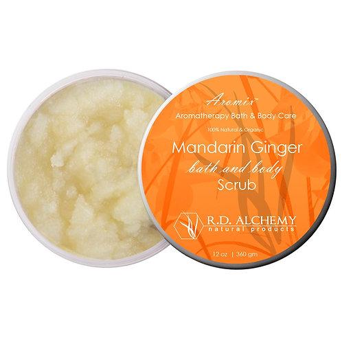 Mandarin Ginger - Sea Salt Body Scrub