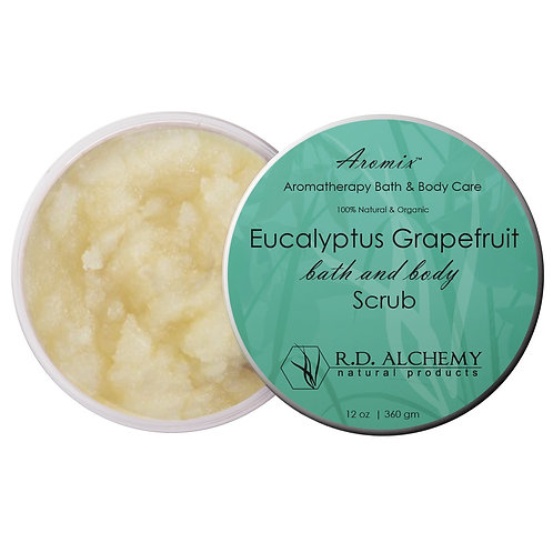 Eucalyptus Grapefruit - Sea Salt Body Scrub