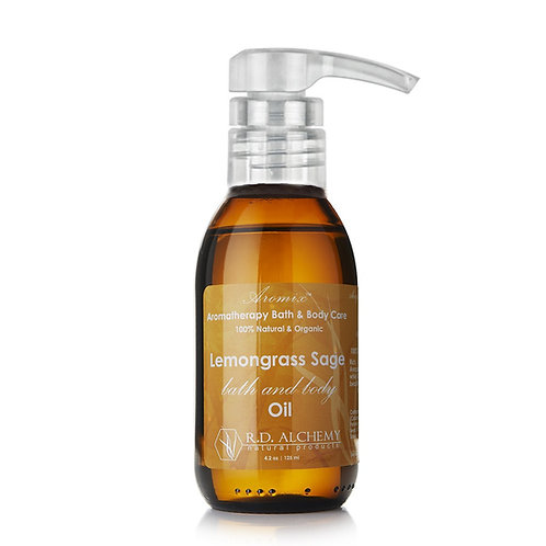 Lemongrass Sage - Bath & Body Oil