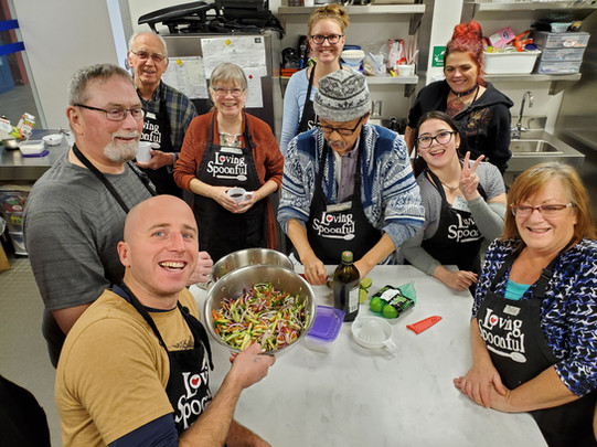 400+ adults, youth & families learn about cooking easy, affordable, healthy food every year