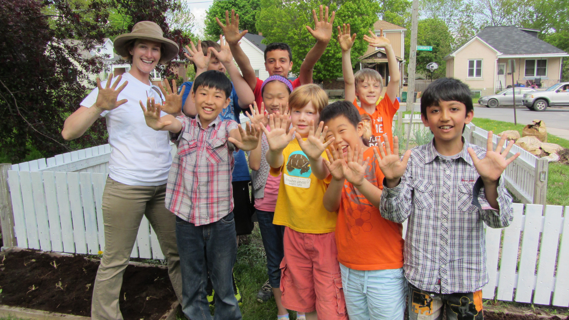 890 elementary students learned through our school garden program in 2019-20