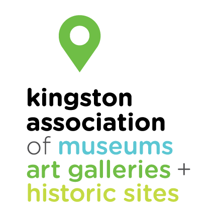 Kingston Association of Museums, Art Galleries & Historic Sites Logo
