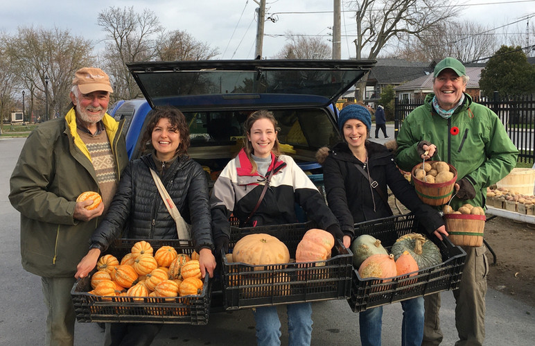 $1.9 million worth of fresh food has been distributed to 52 community agencies since 2008