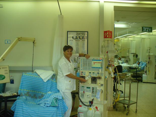 A home care nurse