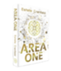 Area One Cover - 3D Hardback PNG Version