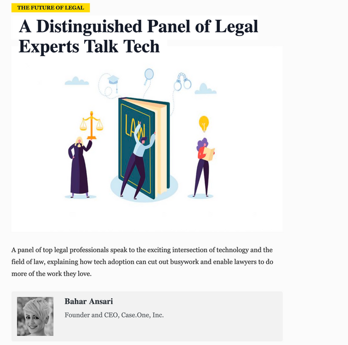 A Distinguished Panel of Legal Experts Talk Tech
