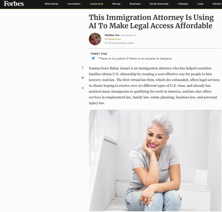 This Immigration Attorney is Using AI to Make Legal Access Affordable