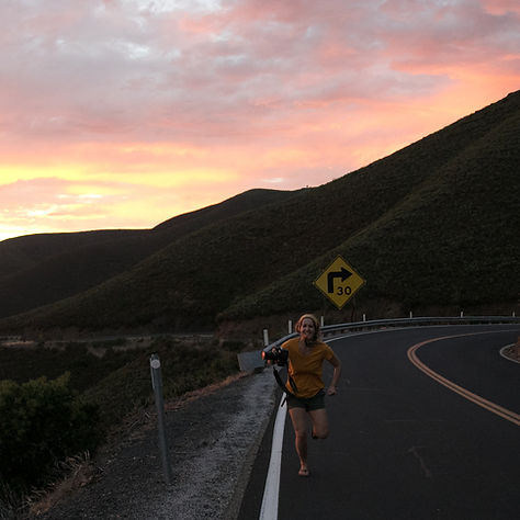 Manda Jean Traveling Photographer chasing the sunset