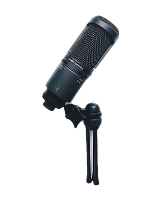 black%20microphone%20on%20white%20surfac