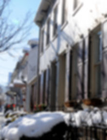 Historic Homes on Porter Street in Easton, PA