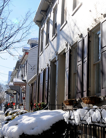 Historic Homes on Porter Street in Easton, PA