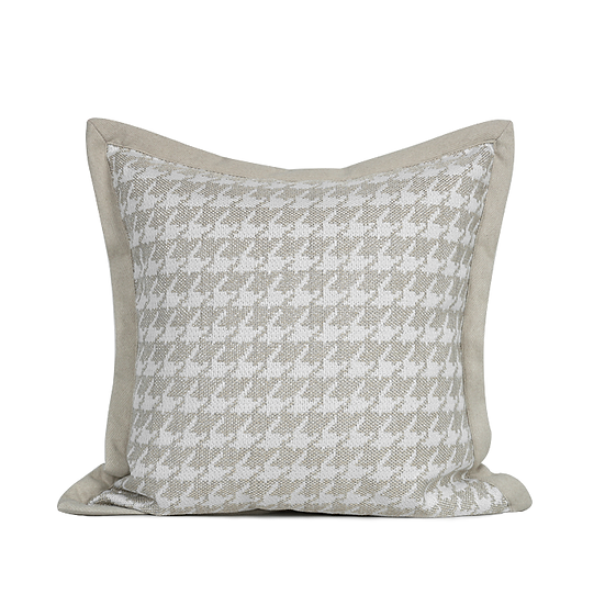 Houdstooth Cushion Cover