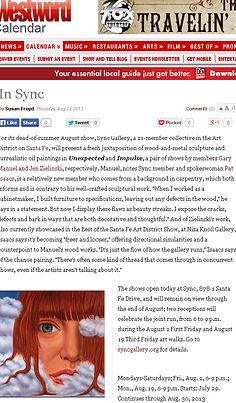 Jen Zielinski, Westord Article