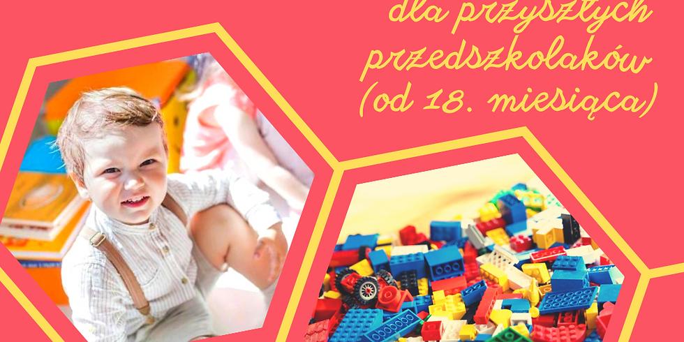 Będę przedszkolakiem - zajęcia adaptacyjne dla dzieci powyżej 18 miesięcy