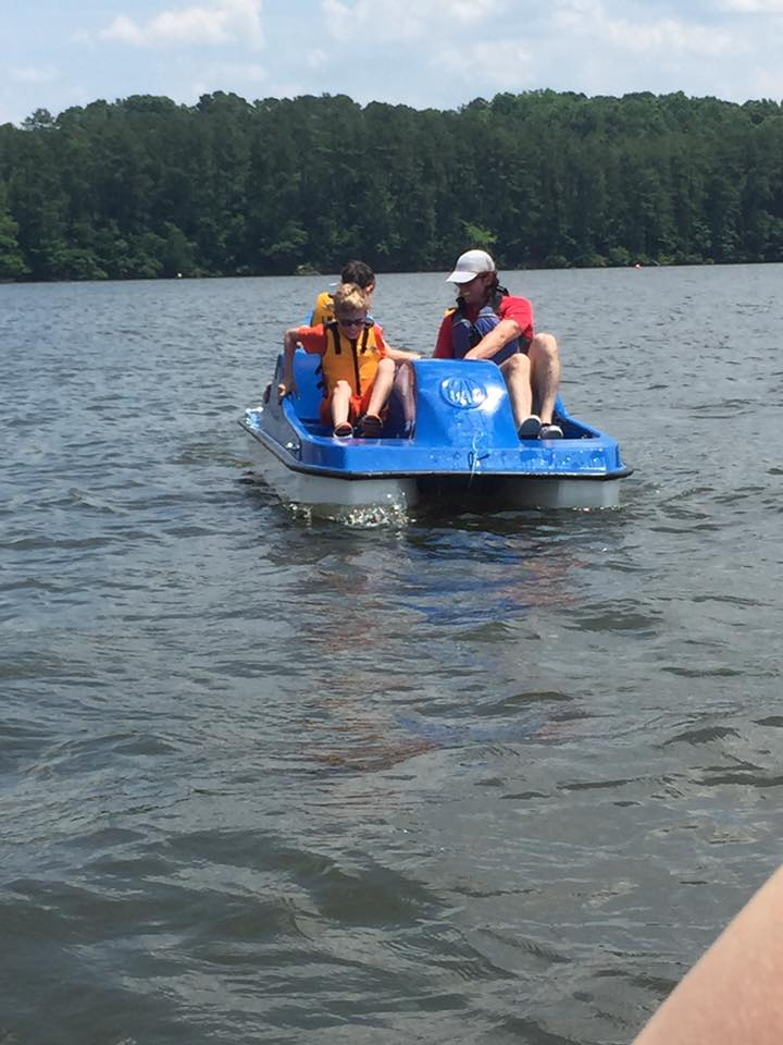 Picture: Paddle Boat Fun