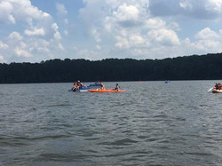 Picture: People in Kayaks