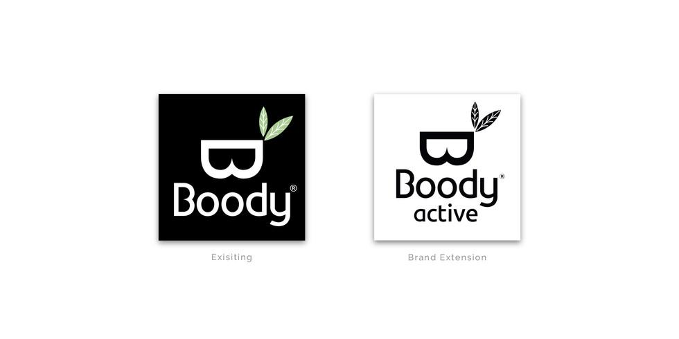 Boody Active logo extension