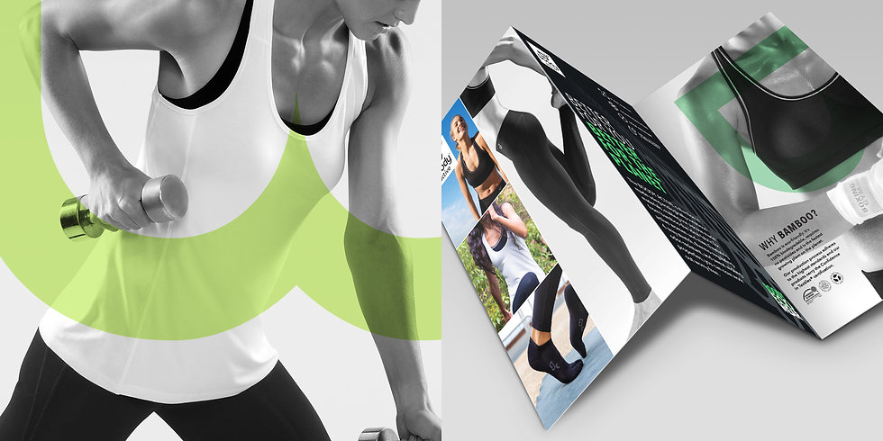 Boody Active brochure photography